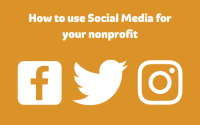 How to use social media for your nonprofit