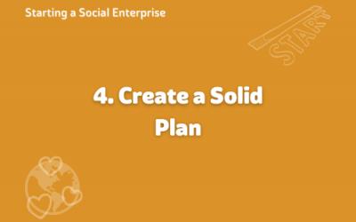 Starting a social enterprise – build a plan