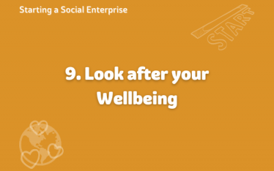 Starting a Social Enterprise – Wellbeing