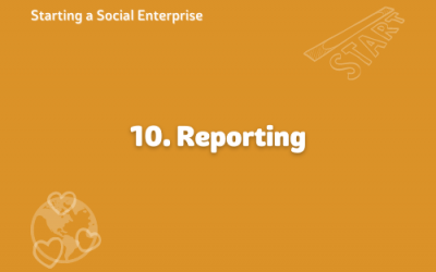 Starting a Social Enterprise – Reporting